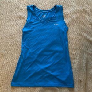 Rebook blue athletic tank